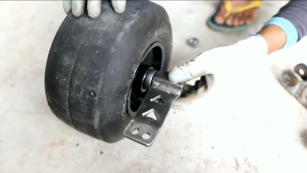 Трехколесный карт с мотор-колесом на 48В
