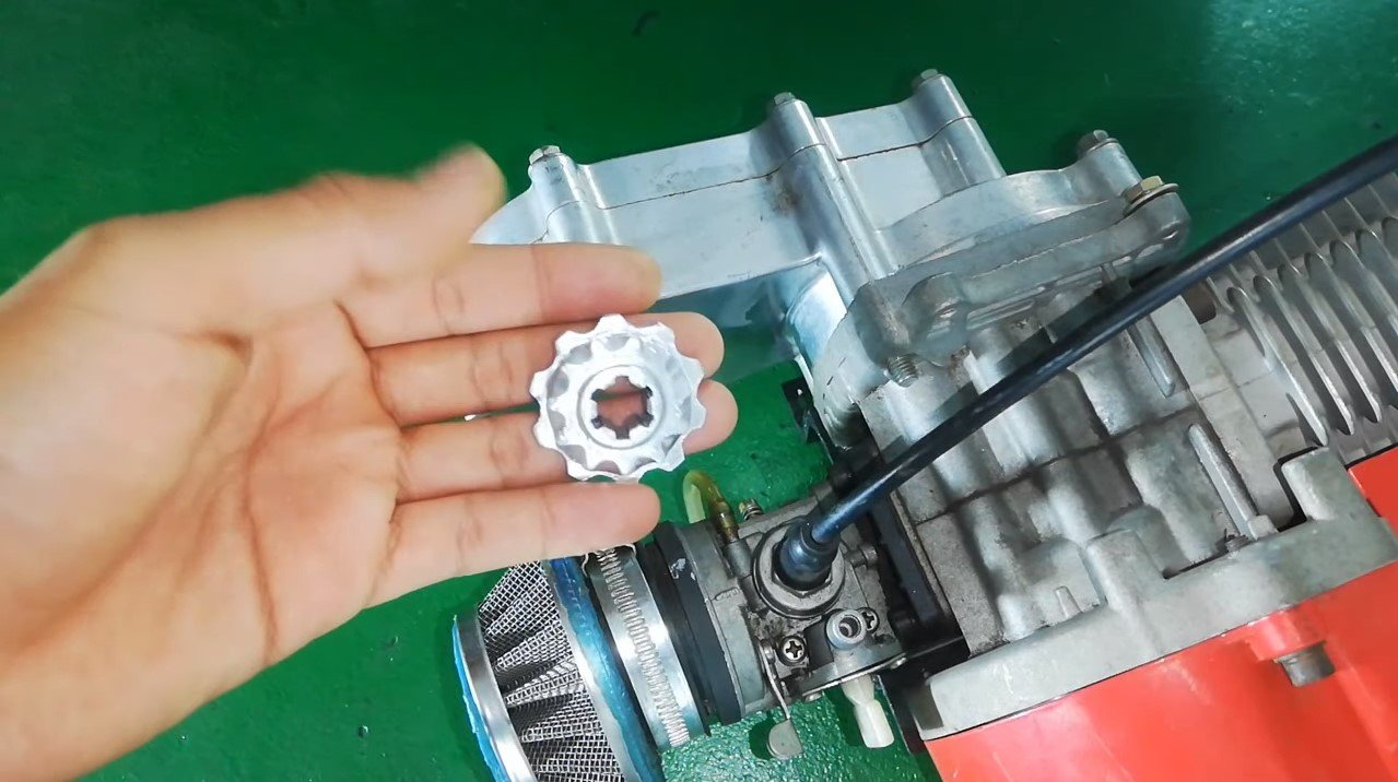 Собираем карт с бензиновым мотором из велосипедных деталей