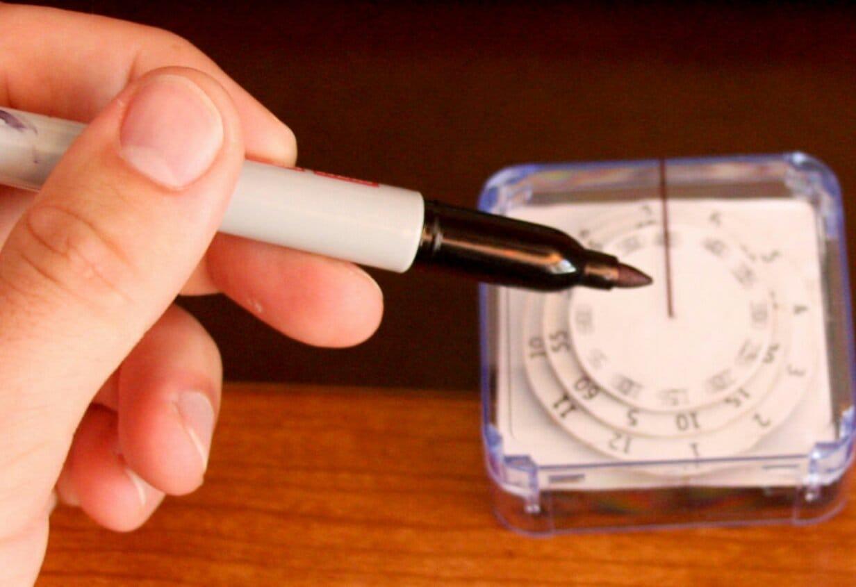 Дисковые часы