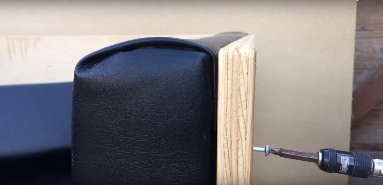 Оригинальный диван из фанеры - проще простого!
