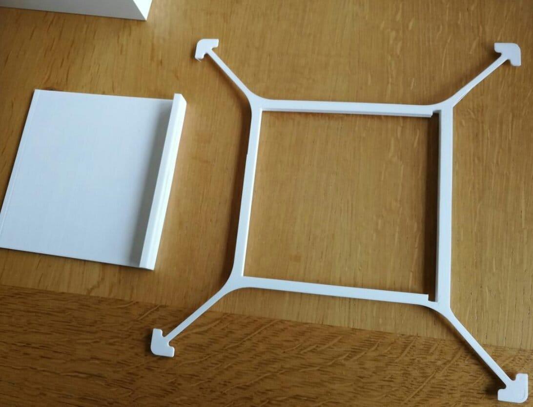 Имитация литофании и подсветка в фоторамке Ikea Ribba