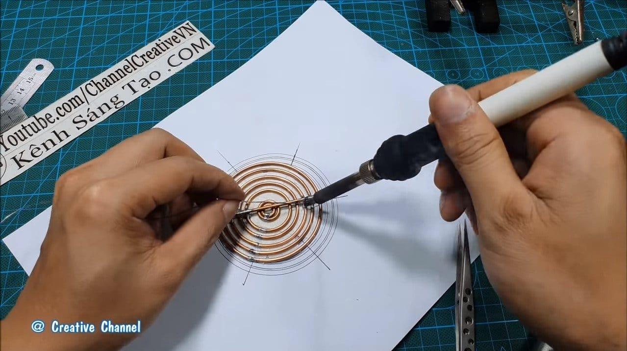 Модель магнитно-гравитационного двигателя