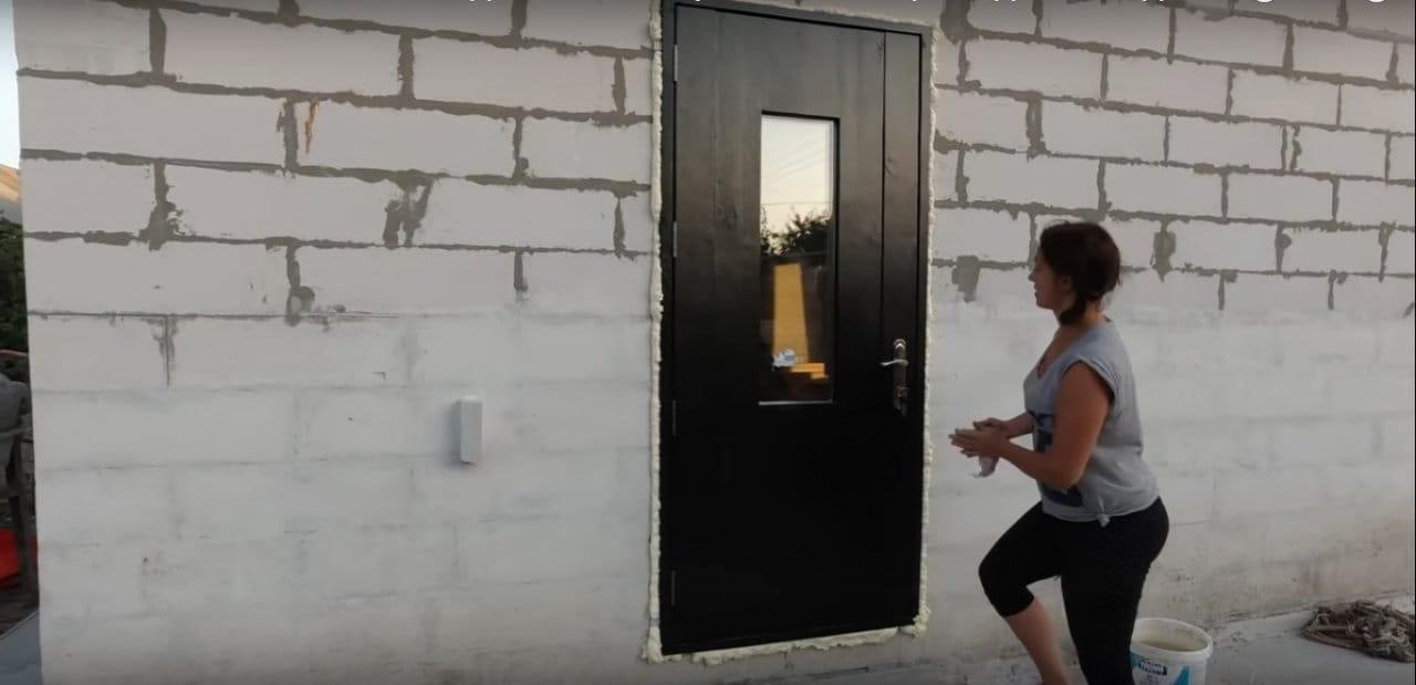 Мастерим теплую дверь своими руками