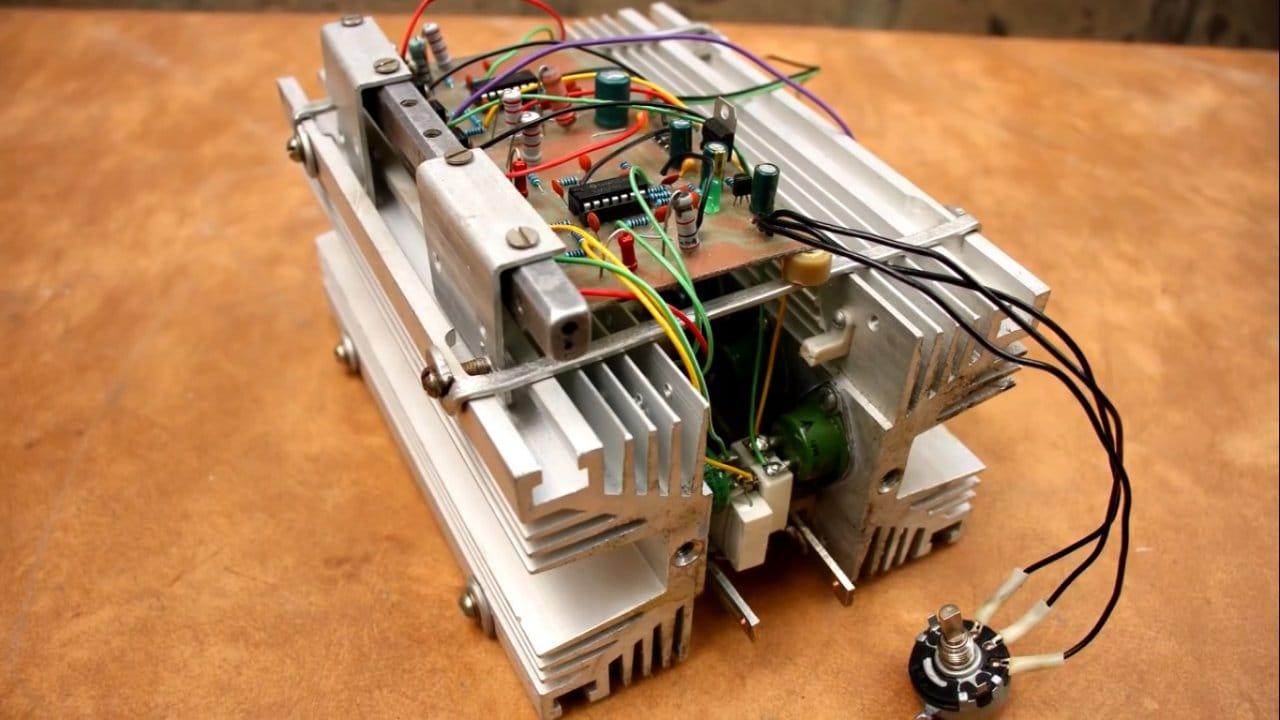 Мощная электронная нагрузка своими руками