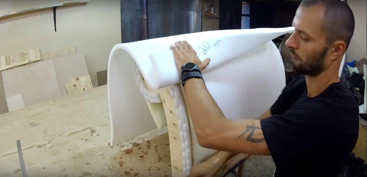 Шикарное кресло-шезлонг своими руками