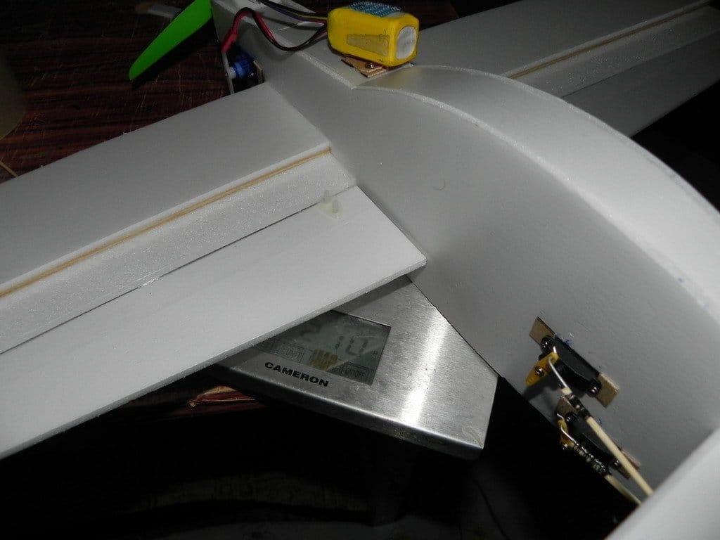 Авиамодель - простой тандем 250 - 3D