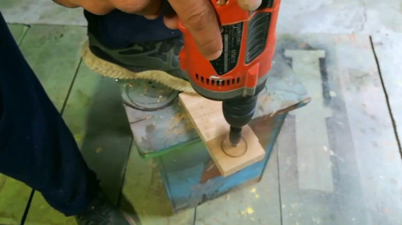 Рукоять рычага переключения передач из массива дуба своими руками
