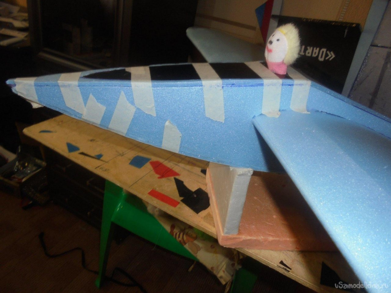 Экспериментальная авиамодель - «Элис»