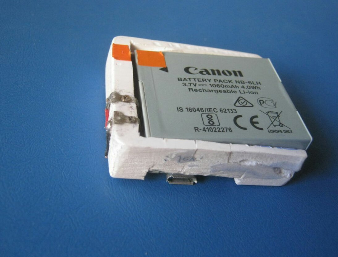Миниатюрное ЗУ для аккумулятора Canon NB-6L