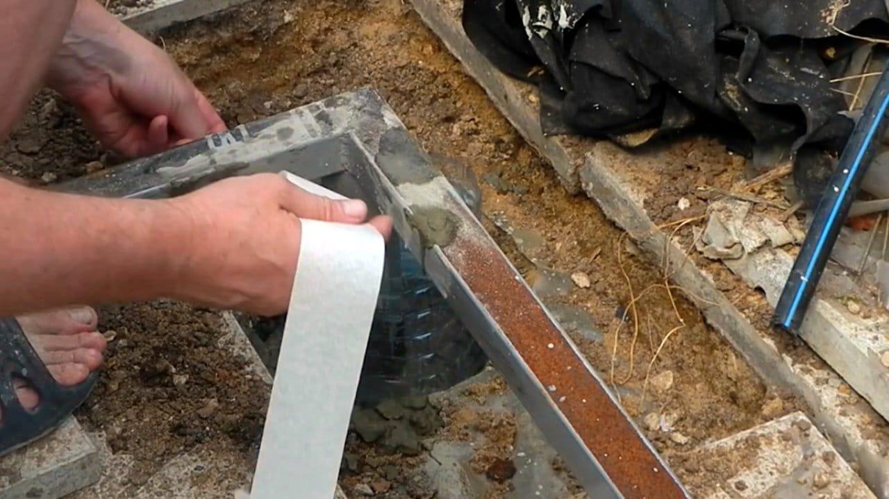 Защита металлических столбов и конструкций от коррозии