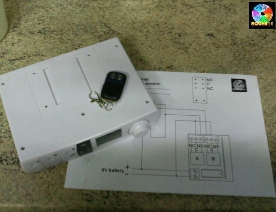 Дистанционное отключение звука радиобудильника на время телефонного разговора