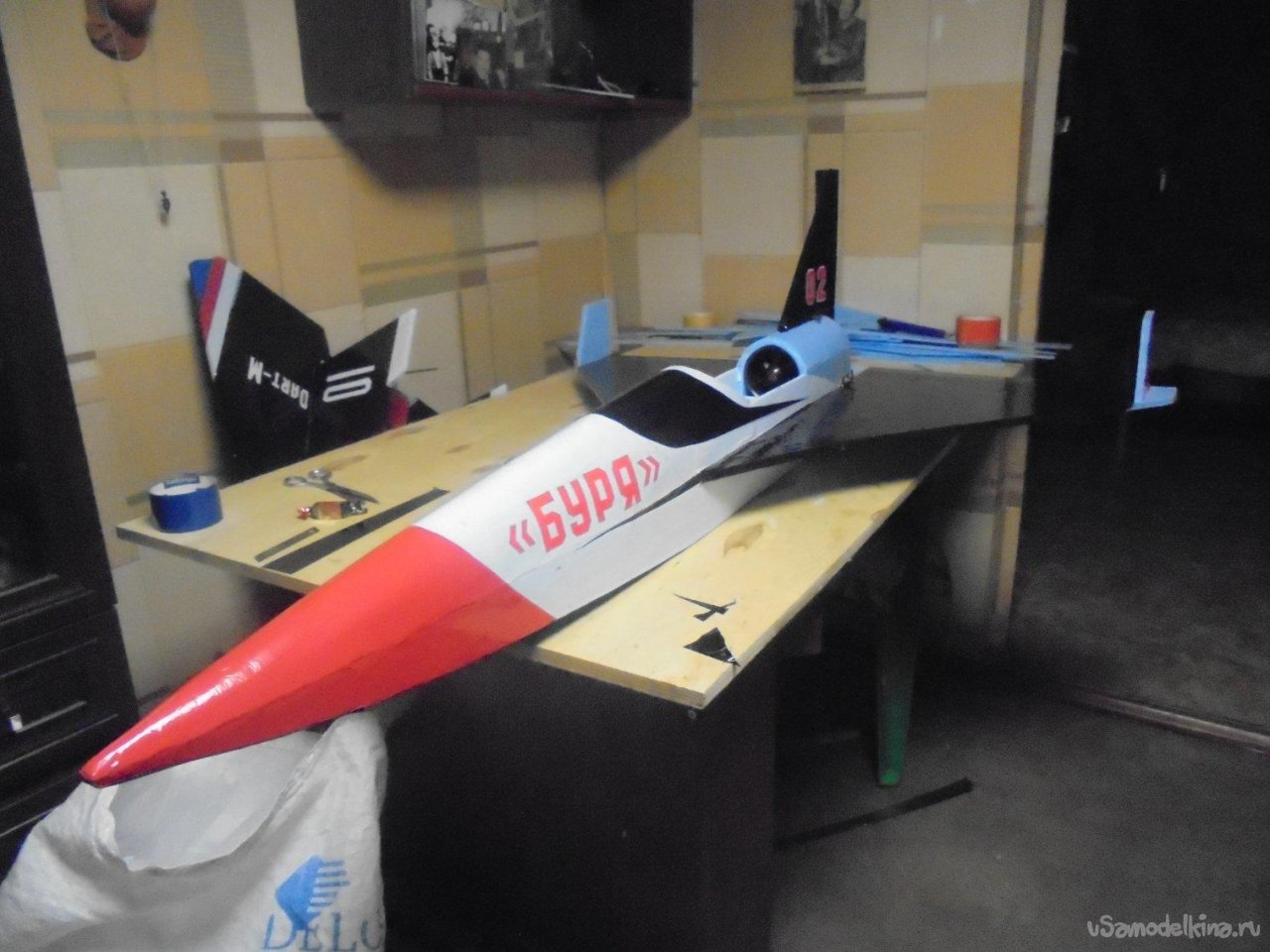 Универсальная авиамодель на импеллере «Буря»