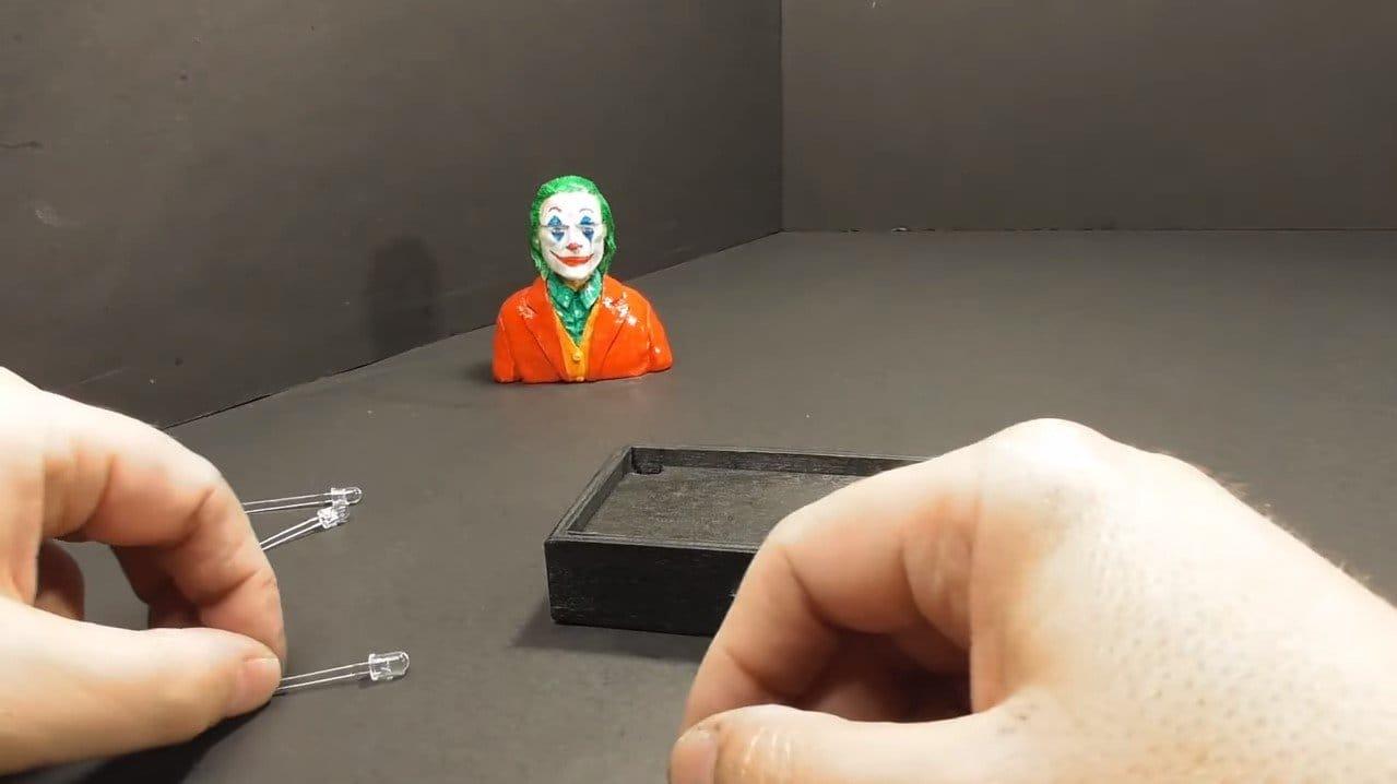 Джокер в эпоксидной смоле - уникальный ночник