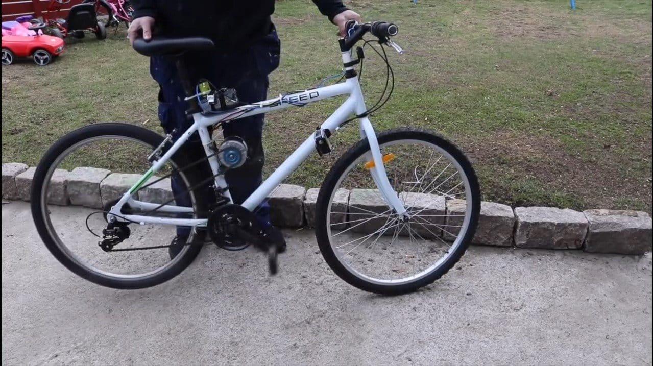 Электровелосипед - самая простая конструкция