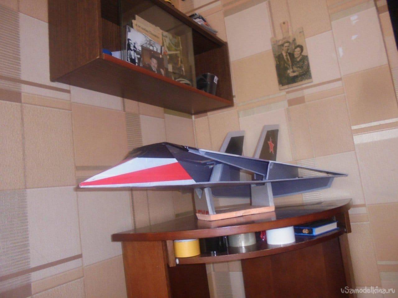 Авиамодель АлиС-05 «Мезон-М»