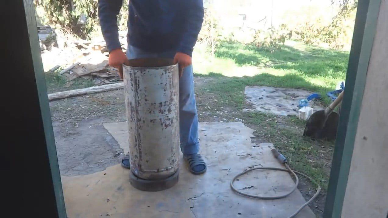 Бойлер с подогревом от дровяной печи