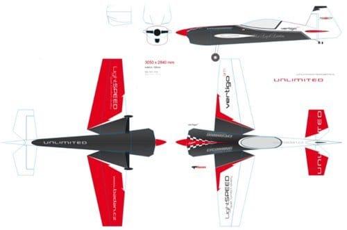 Пилотажная модель «Vertiga 3M»