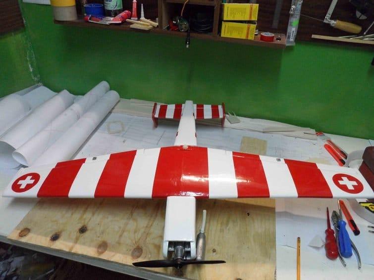 Авиамодель C3603 - «Швейцарец»