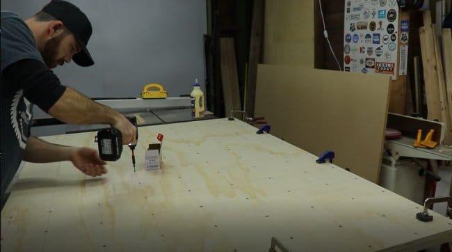 Рабочий стол столяра