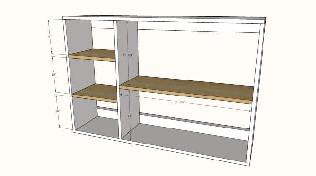 Стол-книжка на роликах для мастерской