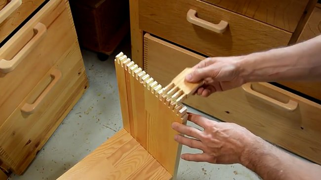Изготовление книжного короба для стеллажа