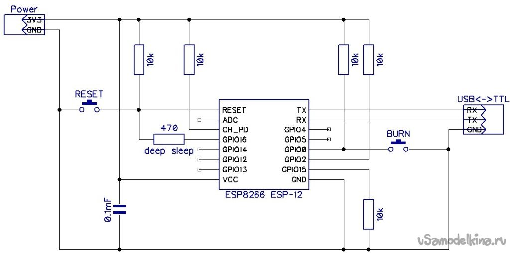 Ночник в форме призмы. На основе ESP8266 и WS2812