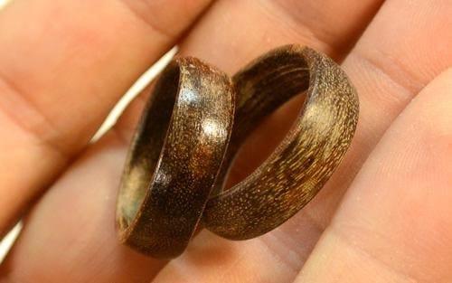Изготовление деревянных колец