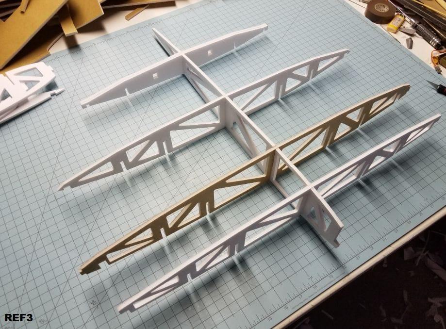 Авиамодель самолёта Vought V-173 «Skimmer» («Шумовка»).