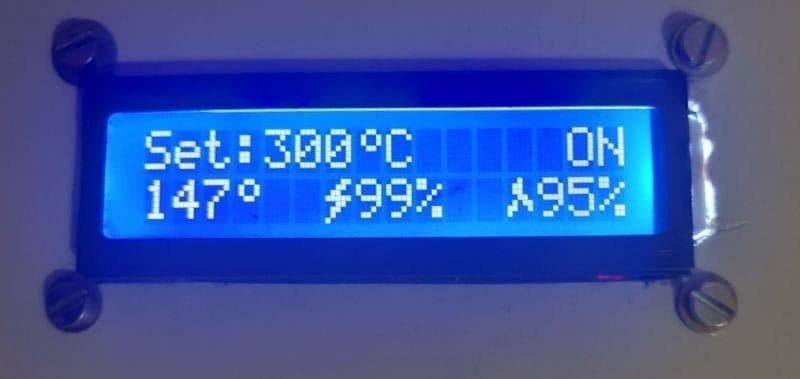 Термовоздушная паяльная станция на Ардуино