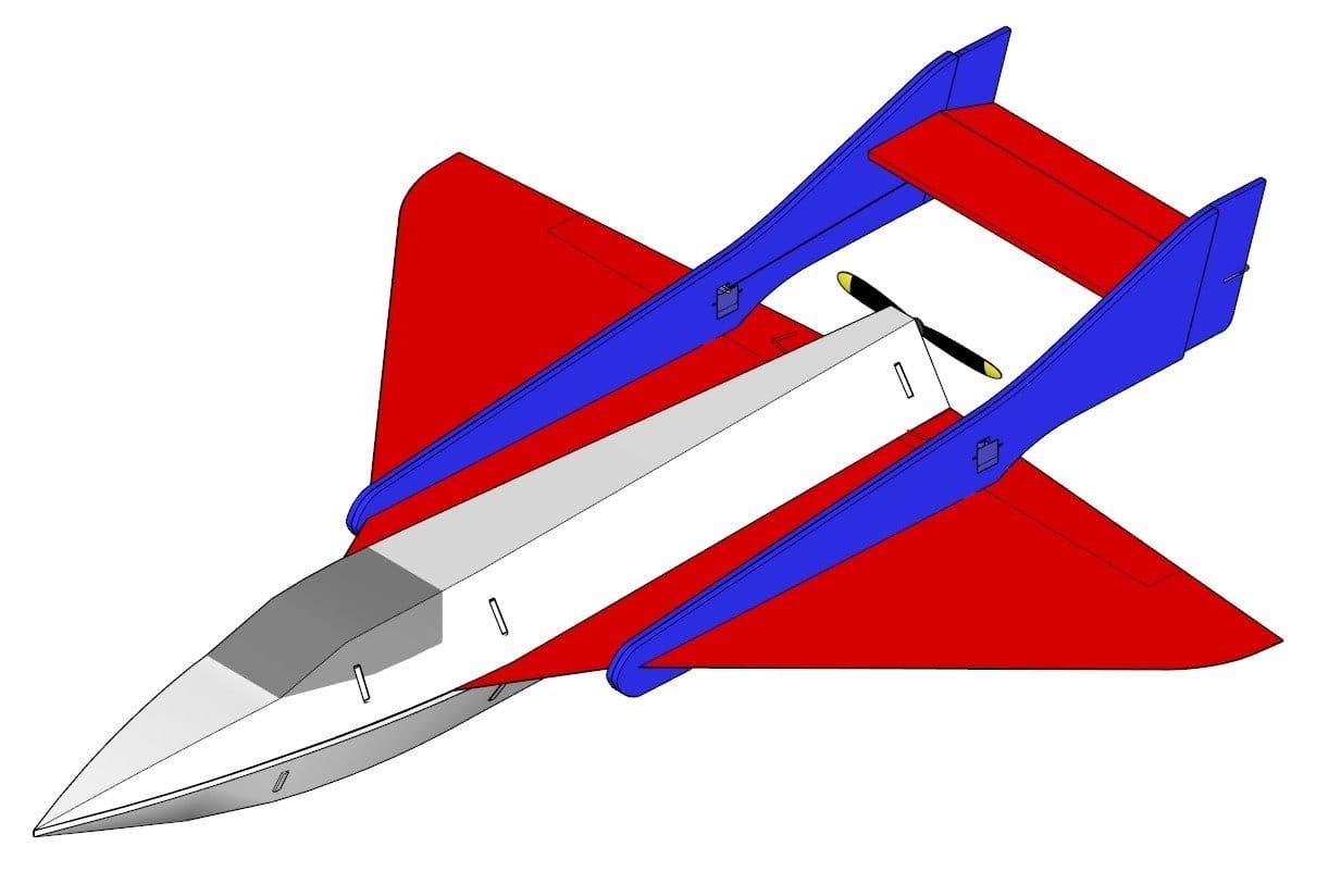 Авиамодель LadyBird