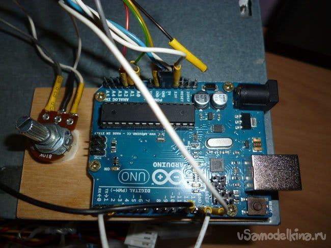 Цветомузыка на Arduino