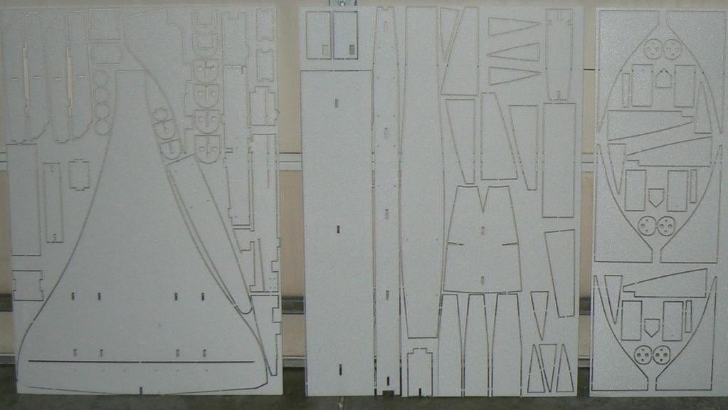 Авиамодель «Конкорд»