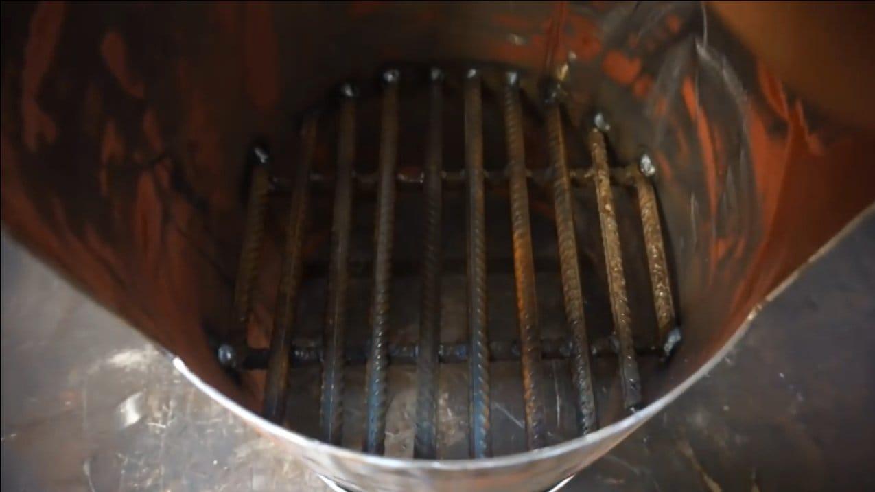 Эффективная печь с пропеллером для гаража или мастерской