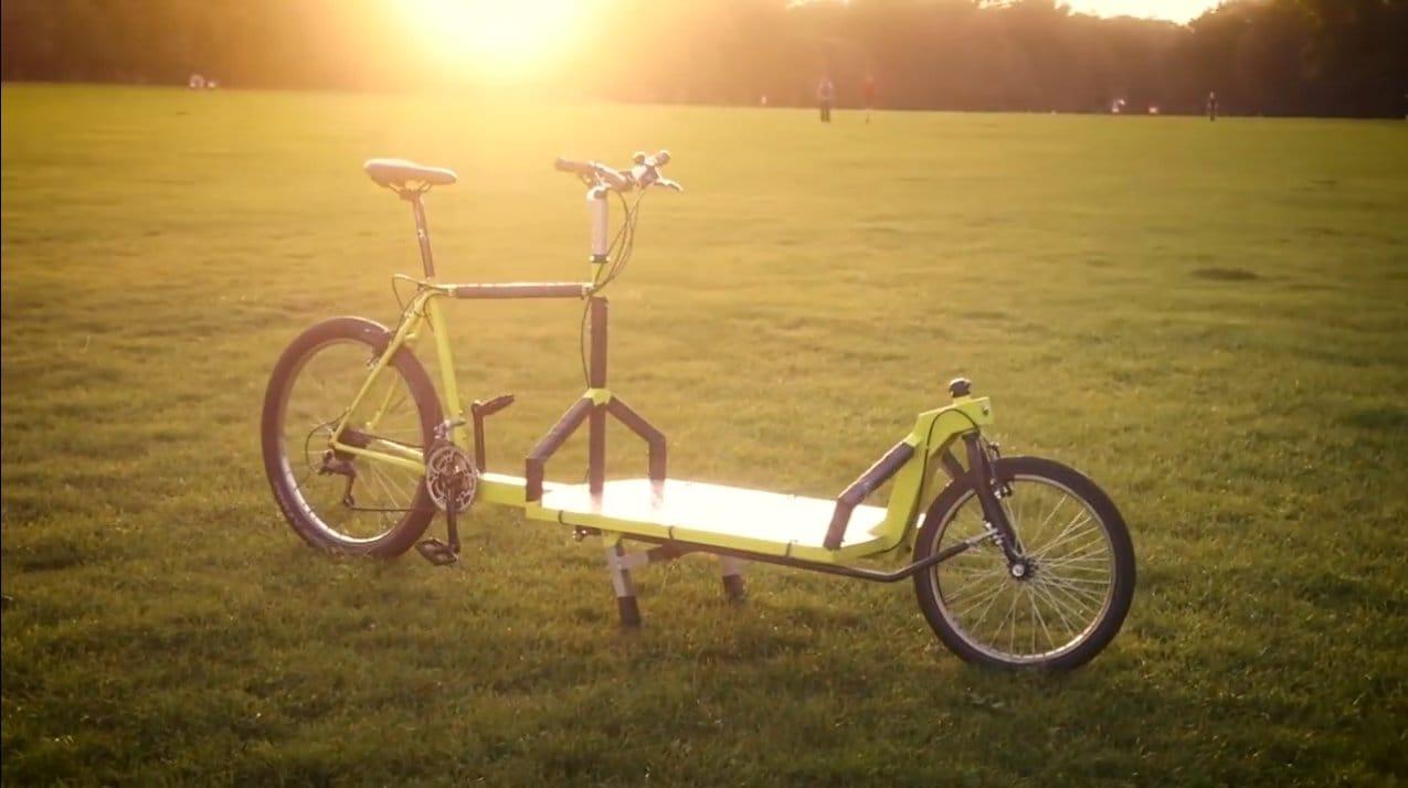 «Велосипед-лимузин» с большим багажником