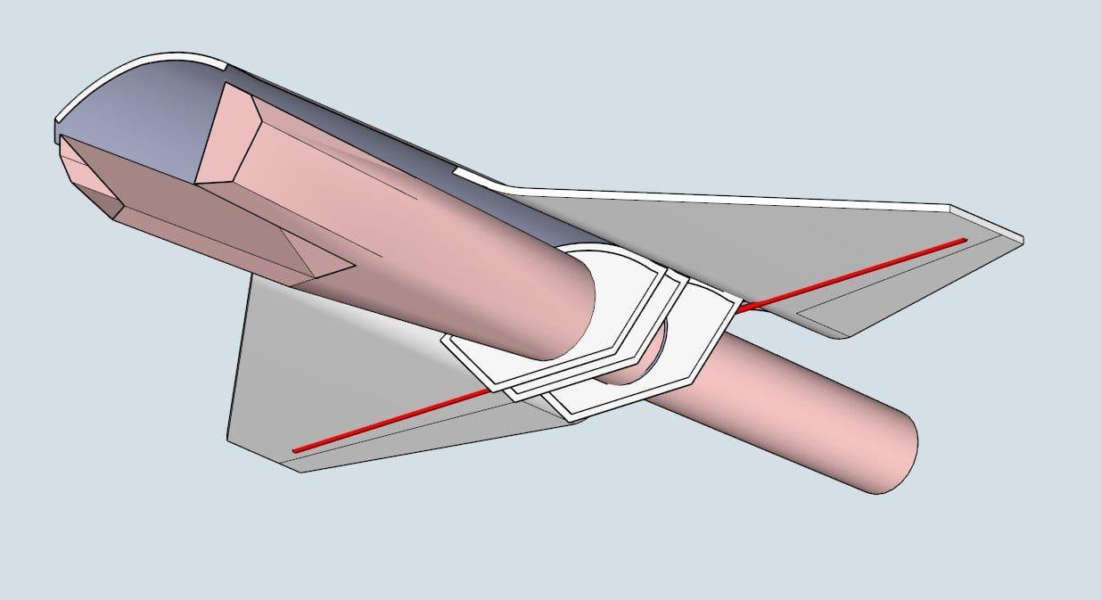 Авиамодель Saab Gripen FS-2020