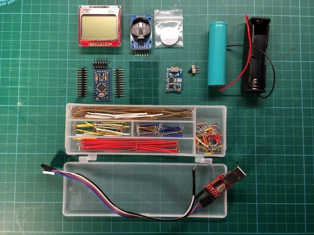 Программная реализация стрелочных часов на Arduino