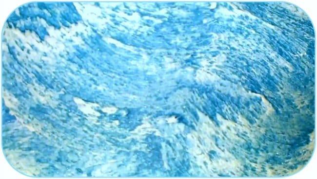 Финишное декоративное покрытие стен «морская волна»