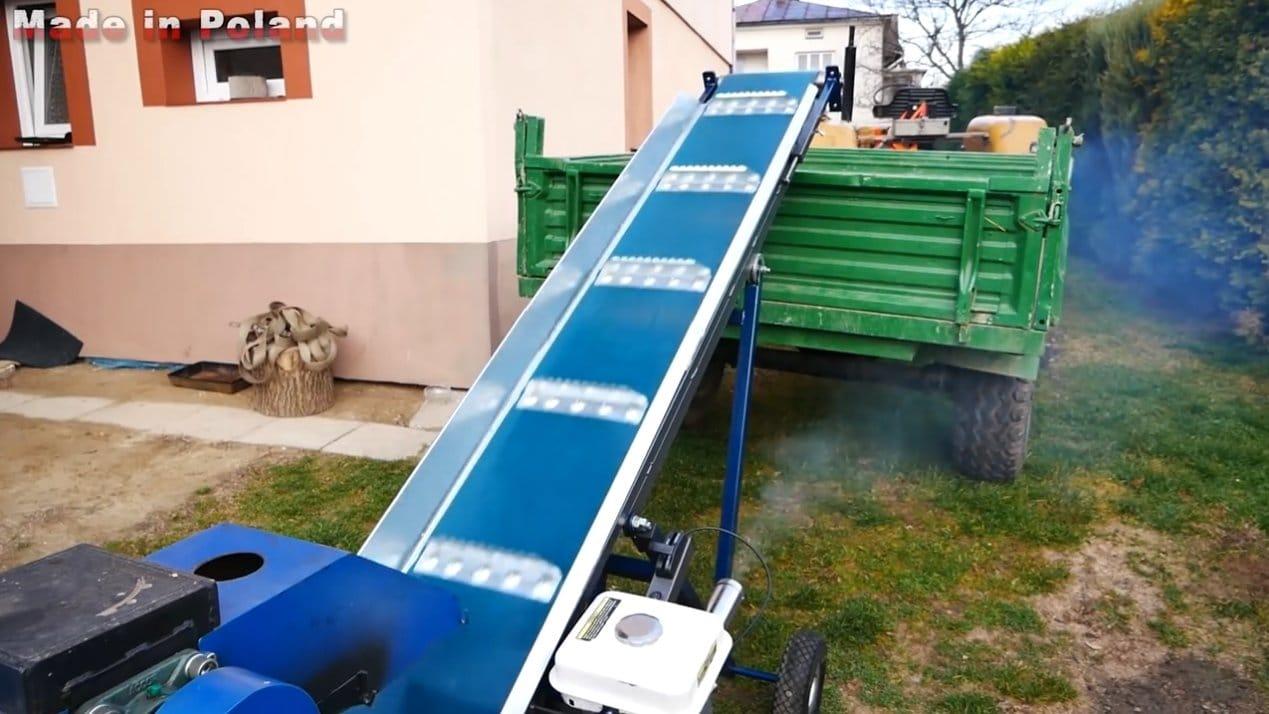 Транспортер для дров чертеж цепные транспортеры для навозоудаления