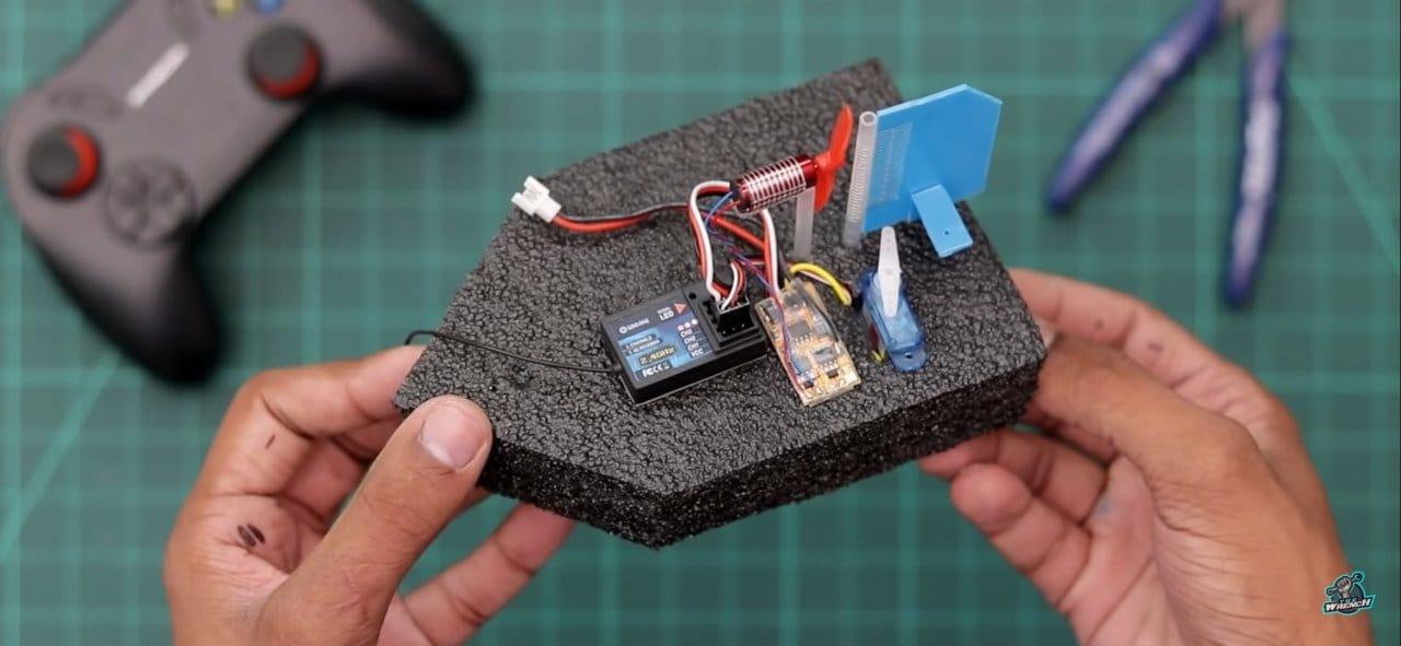 Собираем миниатюрную радиоуправляемую лодку
