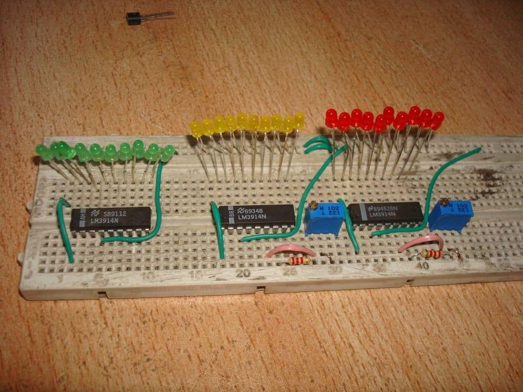 Термометр со шкальным индикатором