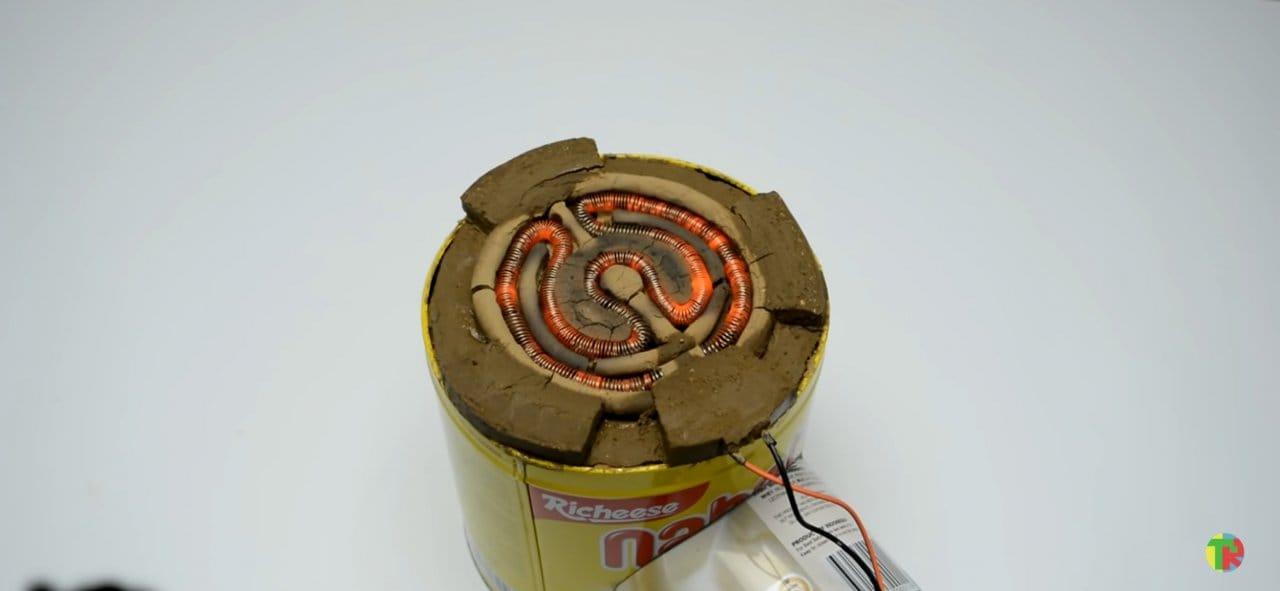 Как сделать электро-плиту/обогреватель из подручных средств