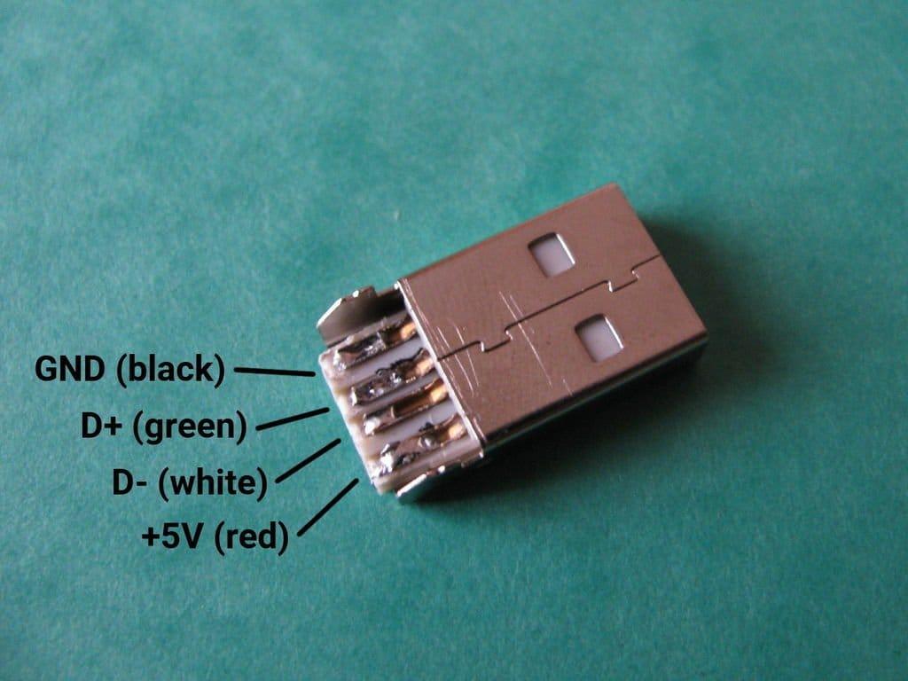USB-накопитель в ретро стиле