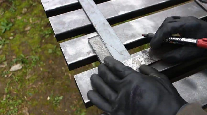 Ракетная печь из 120-й профильной трубы