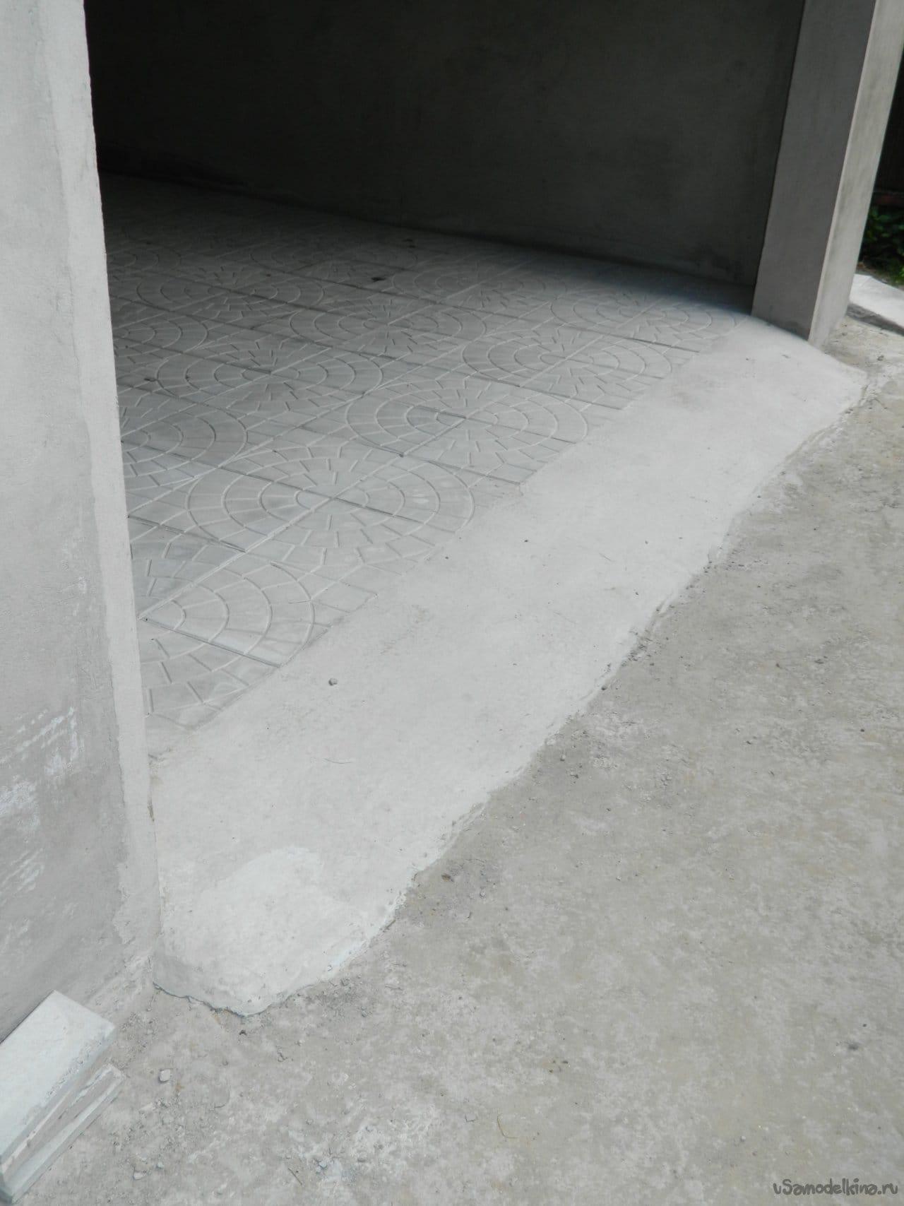Наружная отделка гаража