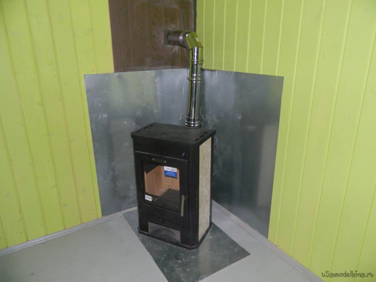 Окончательная отделка уютного двухэтажного гаража