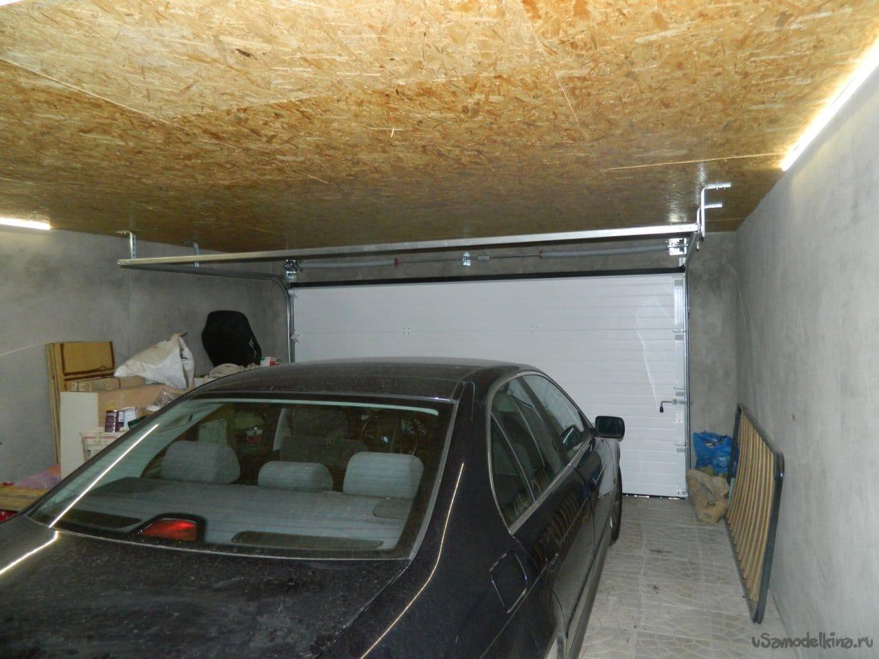 Электрика в гараже