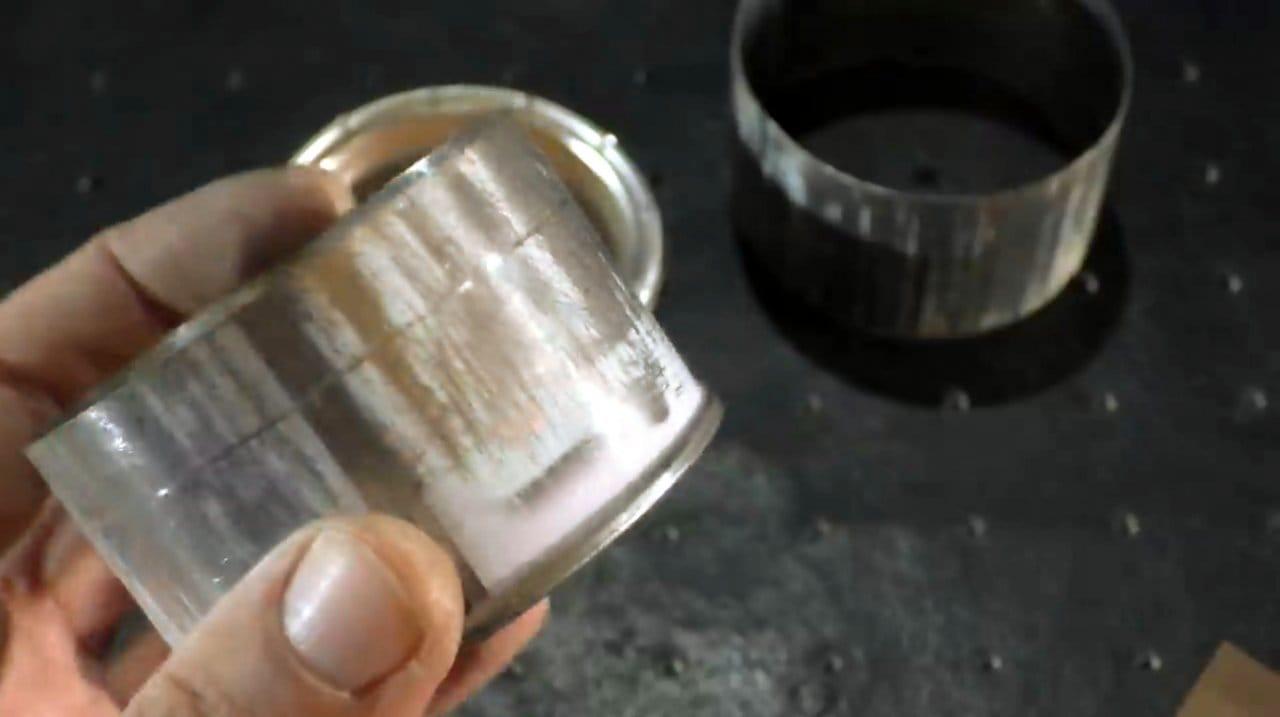 Миниатюрная горелка своими руками
