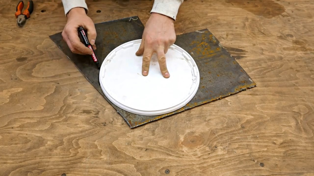 Мангал из старого барабана от стиральной машины своими руками