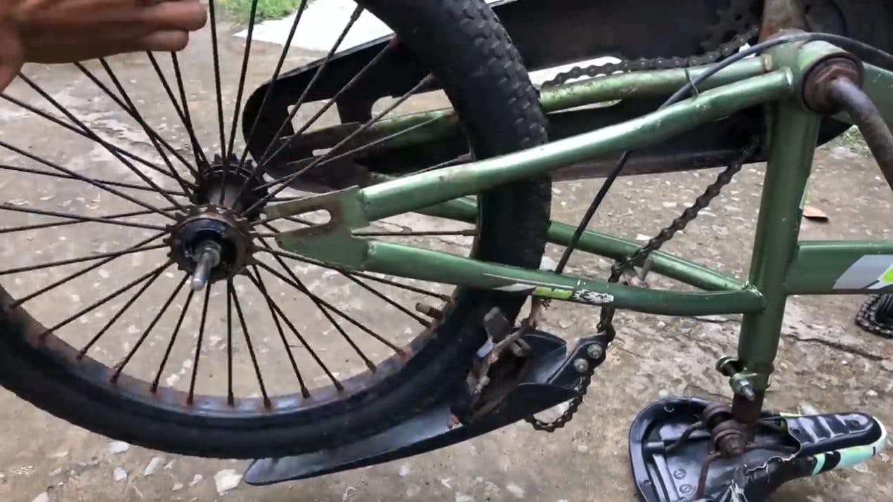 Электровелосипед с четырьмя моторами 775 (55 км/ч)
