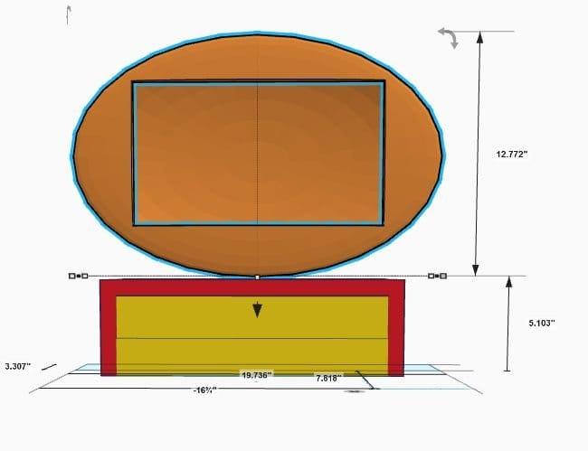 3D-печатная реплика телевизора Philco Predicta